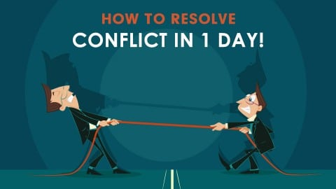 managing conflict graphic