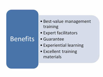 ppt of management training benefits