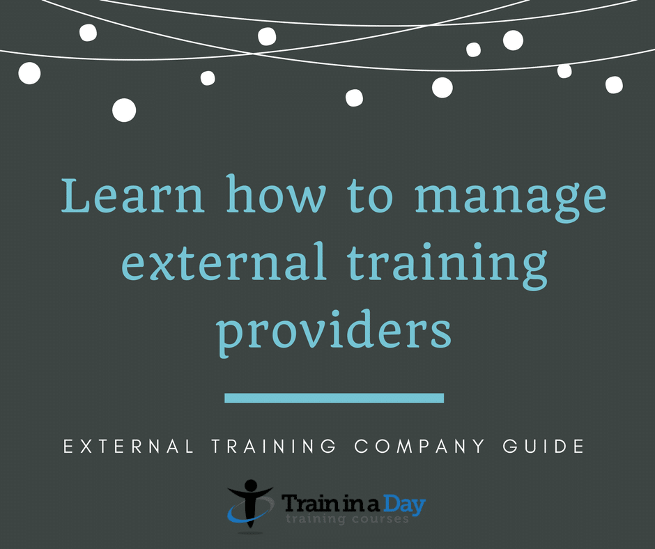 external training providers