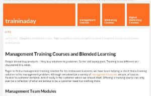 image for modular management training