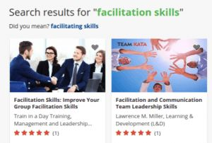preview of facilitating training course