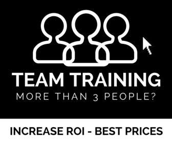 marketing training logo for teams