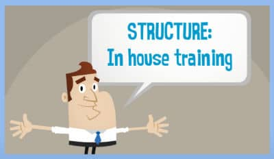 in house training structure