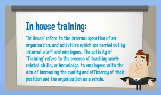 in house training definition