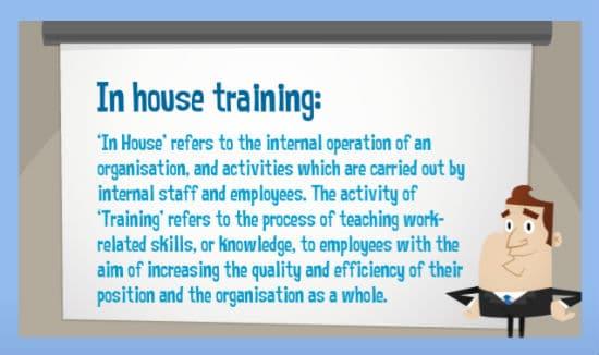in house training program