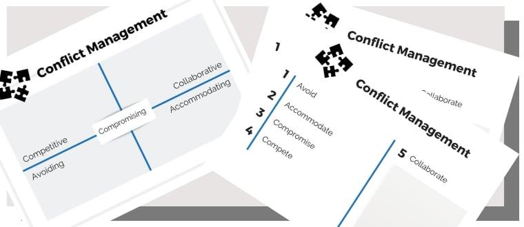 conflict management training materials