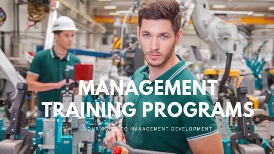 management training program cover