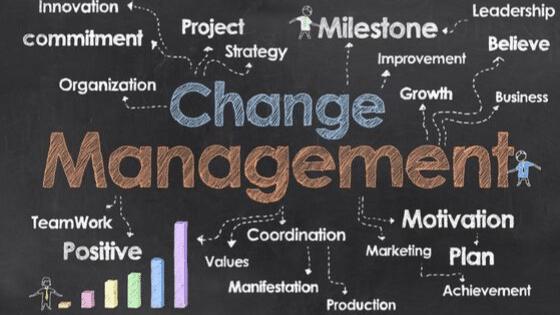 change management training here